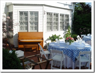 Piano Rental for a Wedding Brunch at Inn at Perry Cabin