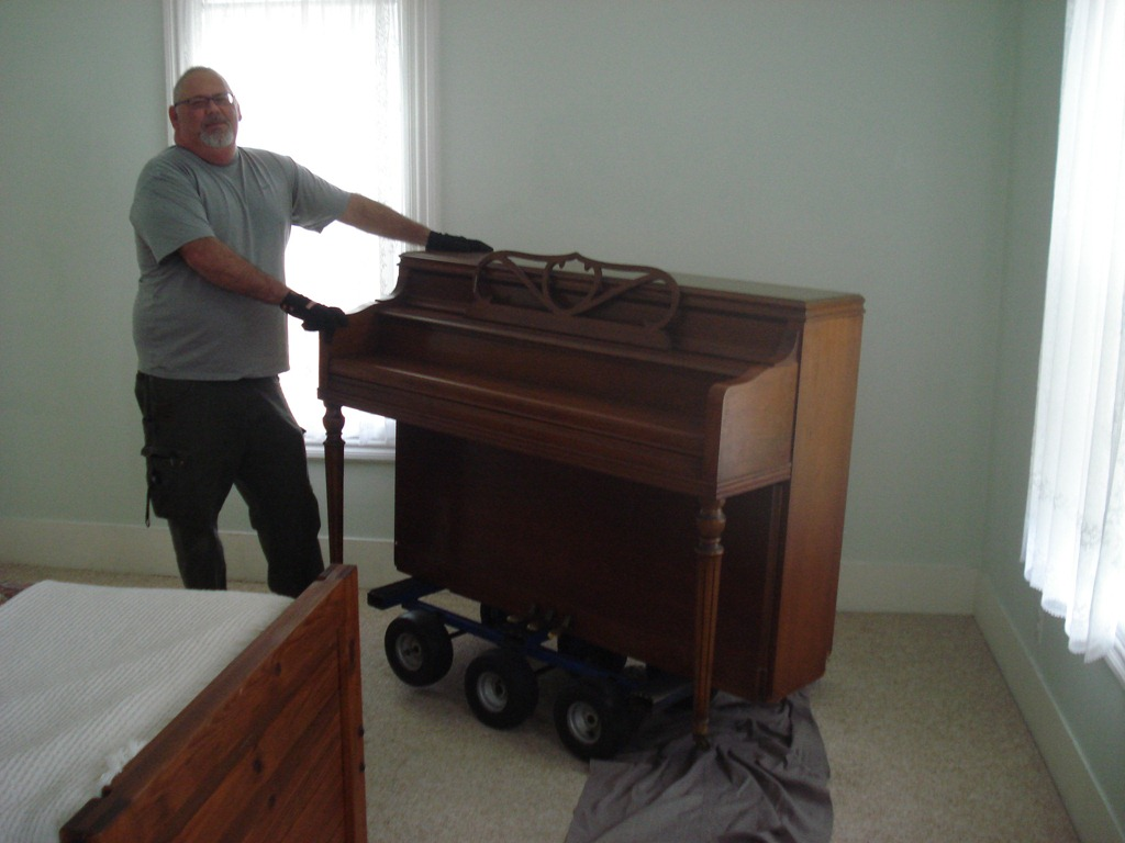 How we move a vertical piano joel smith music for Smallest piano size